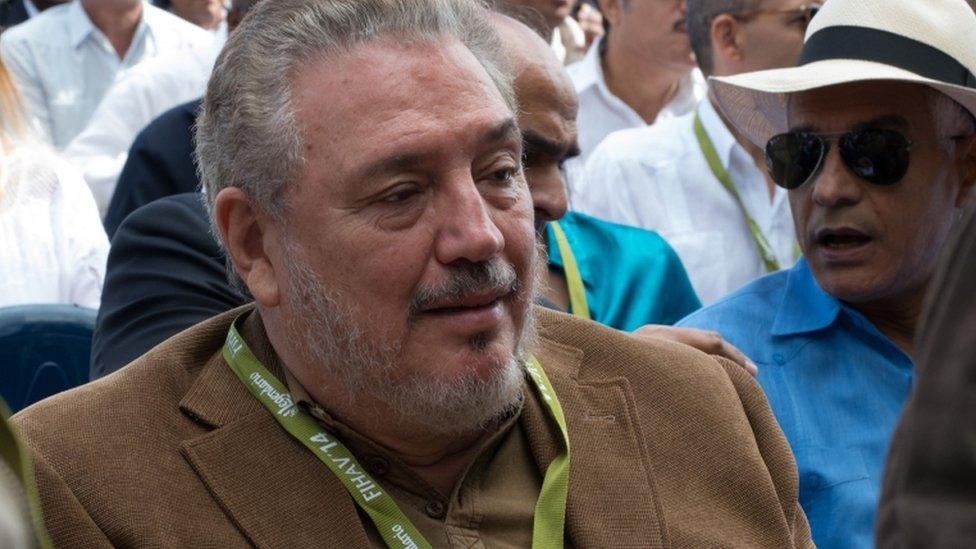 Death of Fidel Castro's son 'Fidelito' reveals a divided family
