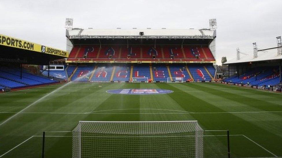Crystal Palace to shelter homeless at Selhurst Park stadium