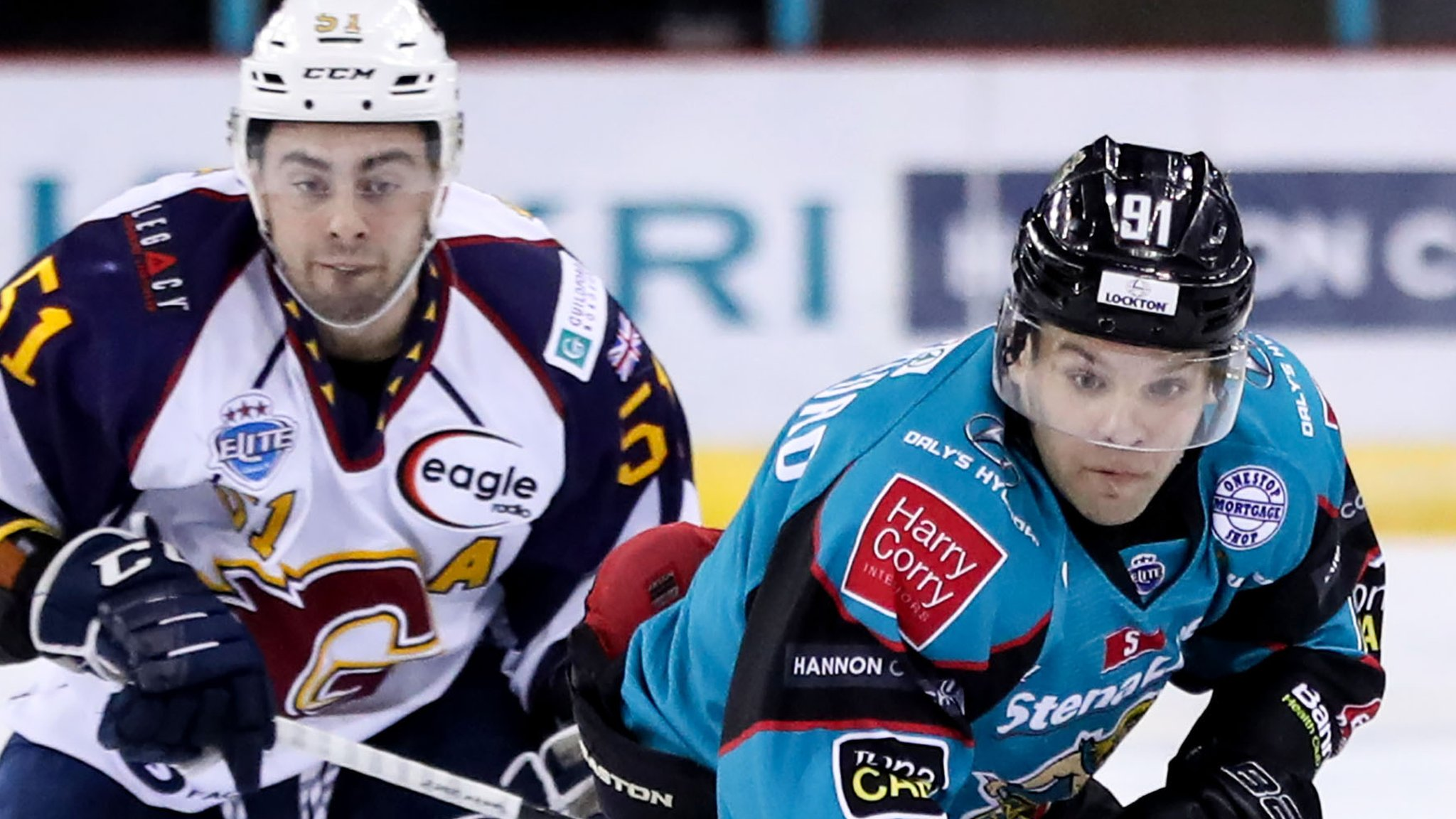 Elite League: Belfast Giants come from behind to beat Guildford Flames in overtime