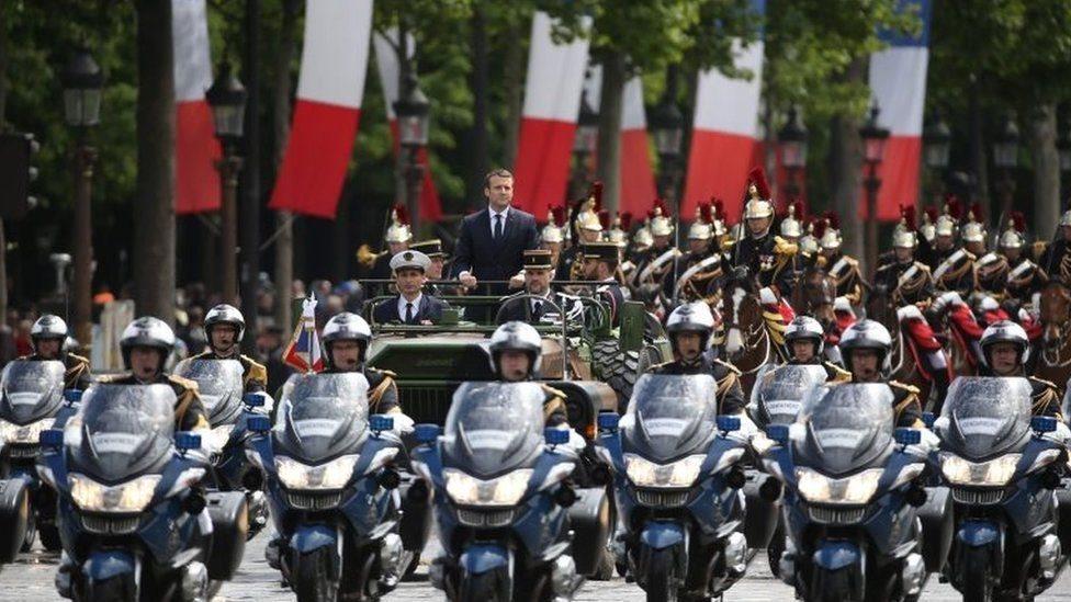 馬克龍就任法國總統