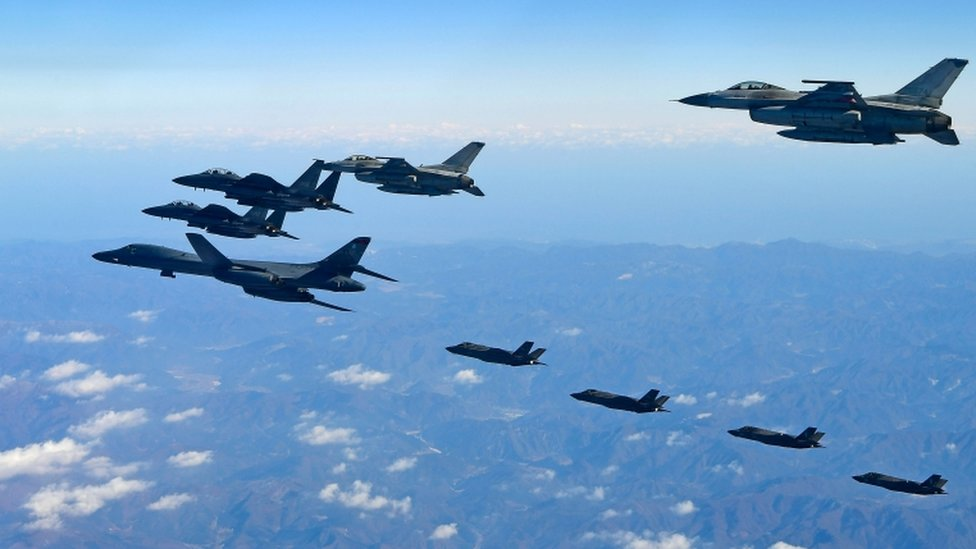 تجري الولايات المتحدة وكرويا الجنوبية مناورات عسكرية مشتركة تستمر حتى الجمعة