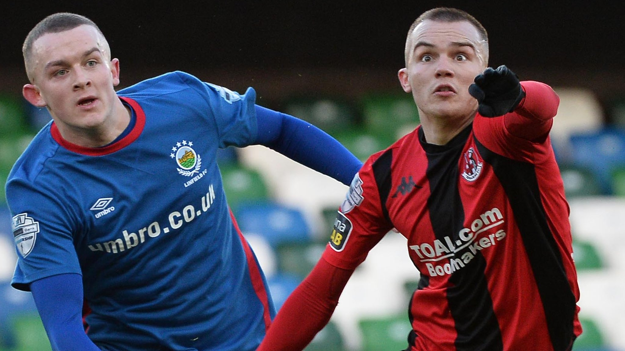 Co Antrim Shield final: Linfield and Crusaders 'agree to toss coin' on venue