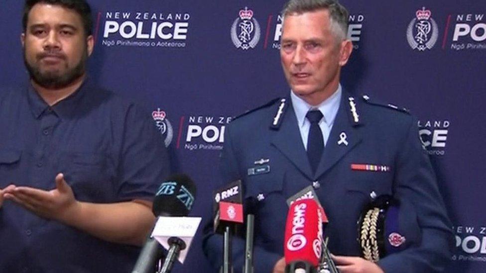 New Zealand police: 'Unprecedented event'