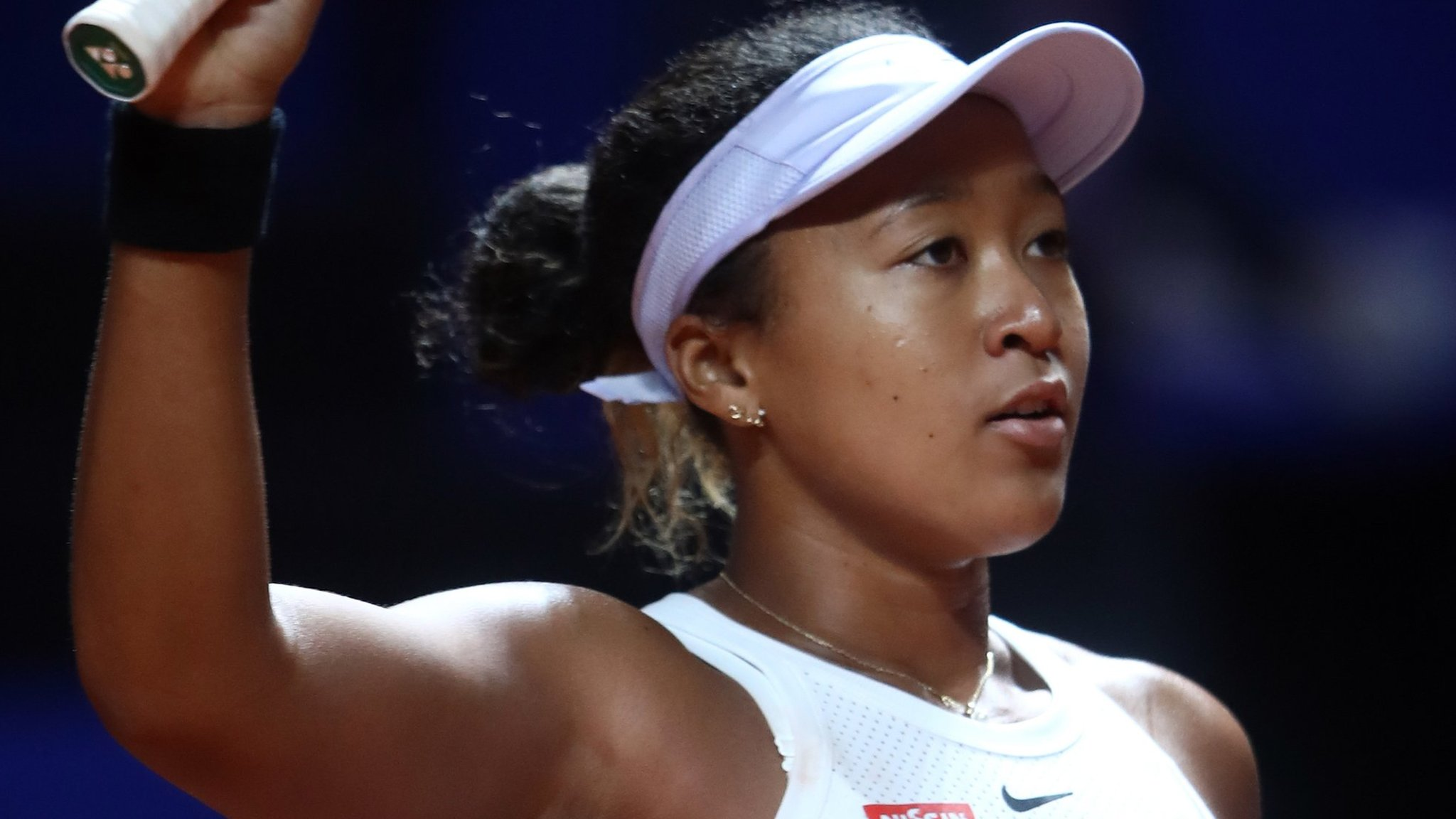 Stuttgart Open: Naomi Osaka beats Hsieh Su-wei to reach quarter-finals