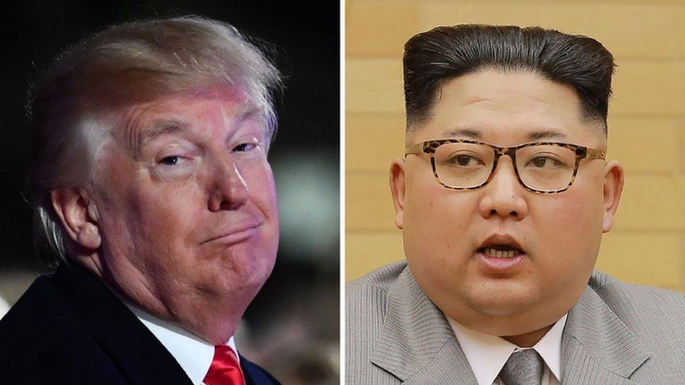 Трамп до КНДР: моя ядерна кнопка більша