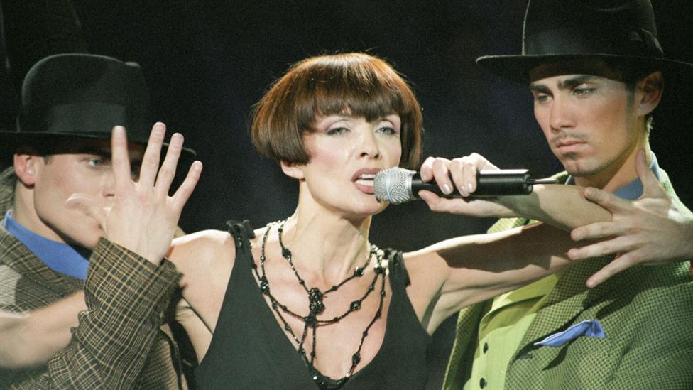 Laima Vaikule: Latvian pop star angers Russia with Crimea snub