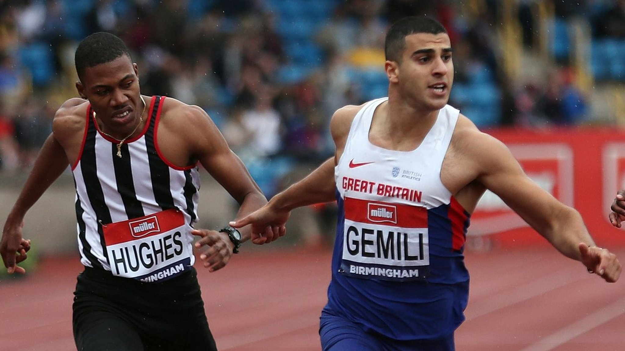 British Championships: Adam Gemili wins 200m and secures Olympic spot