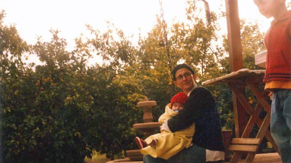 Paula Sáenz con dos de sus hijos (Crédito: Paula Sáenz)