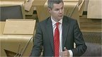 Islands Minister Derek Mackay