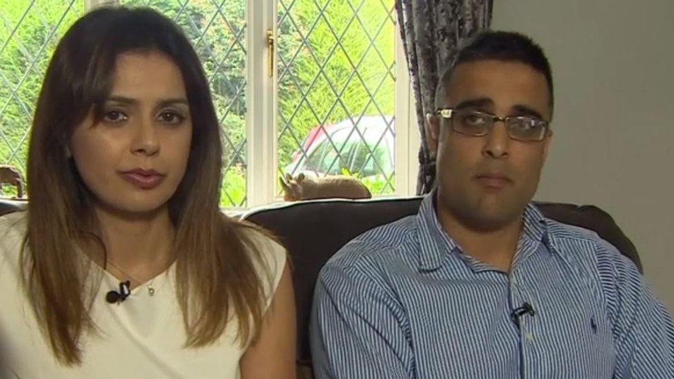 Couple's 'heritage' blocks them adopting