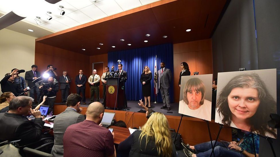 Turpin case: 'Chains and padlocks used on siblings'