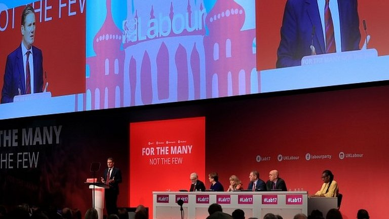 Labour conference: Starmer claims 'grown-up' Brexit stance