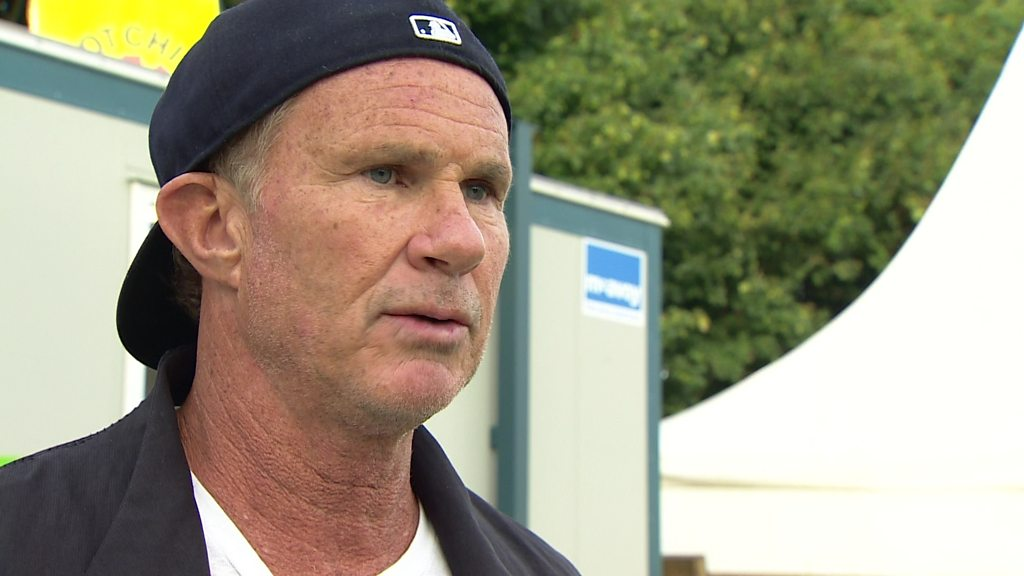 Red Hot Chili Peppers: Chad Smith hails 'incredible' Irish crowds