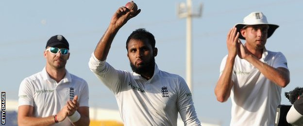 Adil Rashid acknowledges his five-for