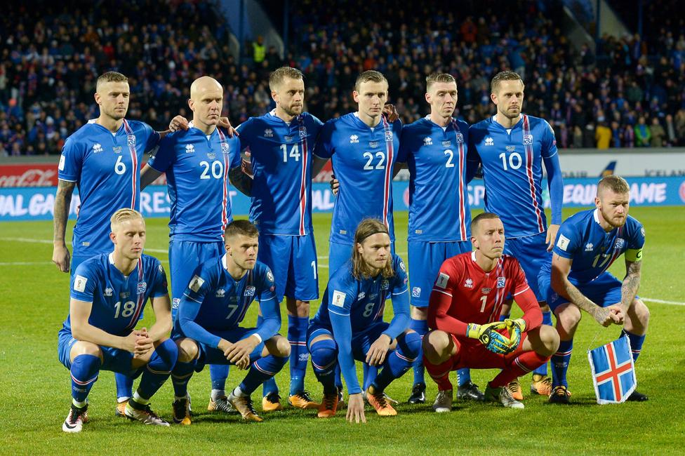 Once de Islandia contra Kosovo