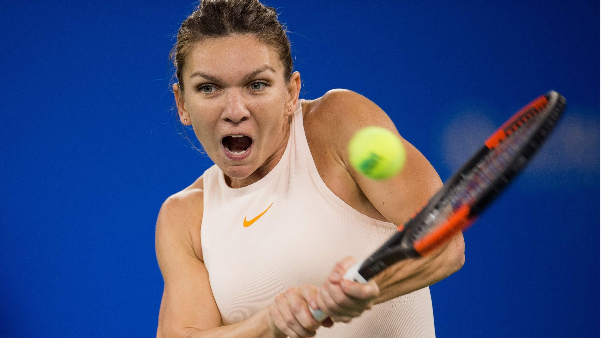 Simona Halep: World number one withdraws from WTA Finals with back injury