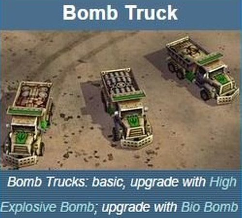 The truck as appearing on the video game wiki page.
