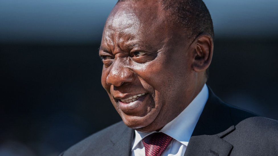 South Africa's President Ramaphosa vows 'new era' at inauguration