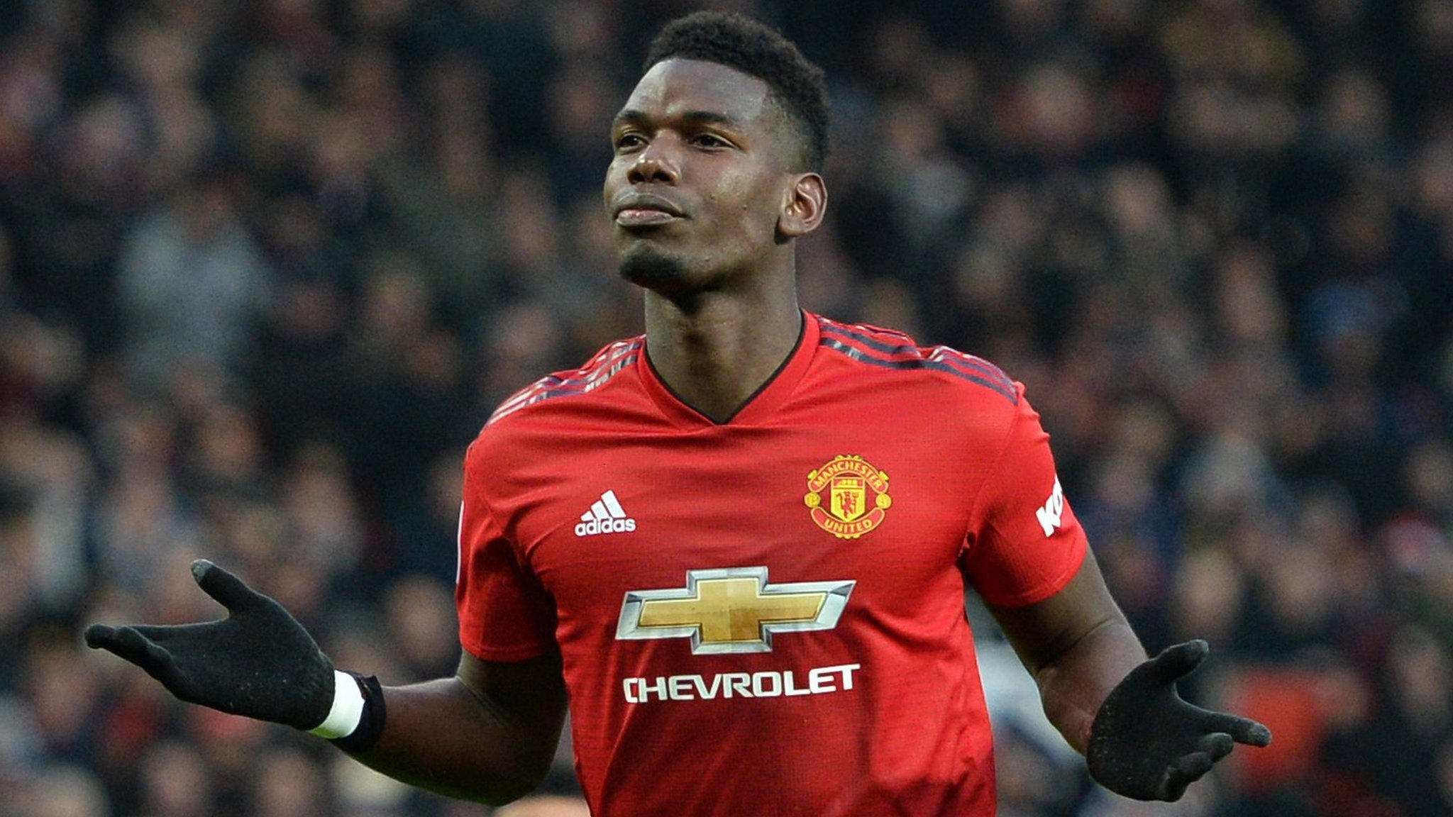 Pogba & Rashford give Solskjaer seventh straight Man Utd win