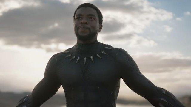 """Chadwick Boseman, protagonista de """"Black Panther"""""""