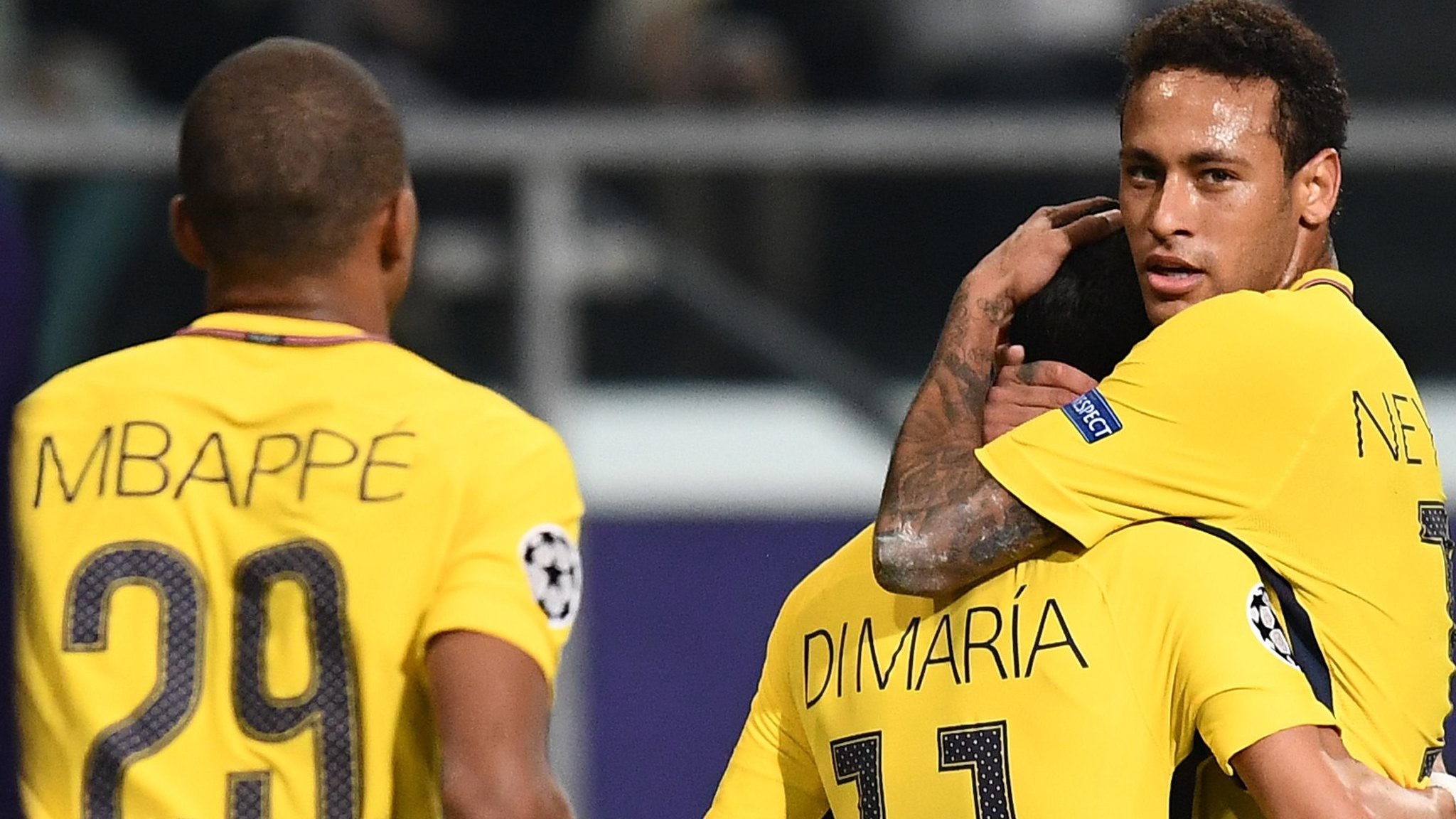 Neymar, Mbappe & Cavani all score as PSG maintain 100% start