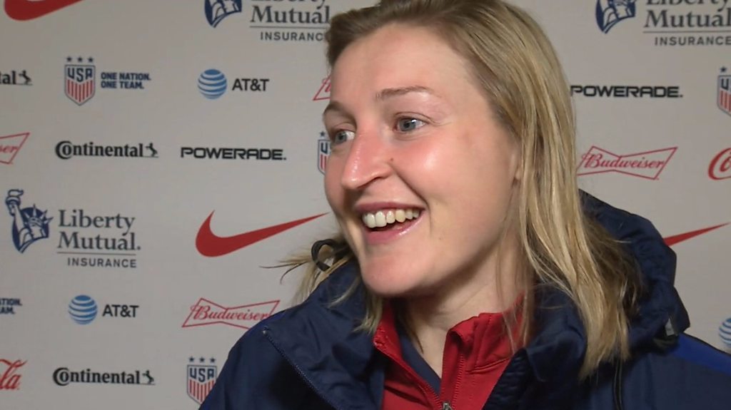 SheBelieves Cup: England women's Ellen White 'wishes' she scored a hat-trick against Germany