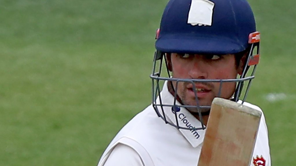 Alastair Cook: Ex-England captain scores century in first innings since Test retirement