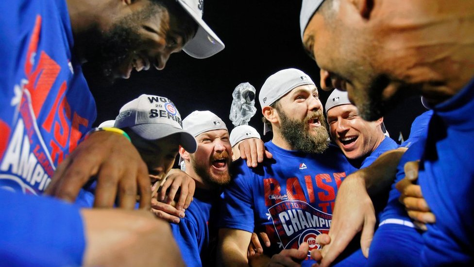 Chicago Cubs: City parties as baseball 'curse' ends after 71 years