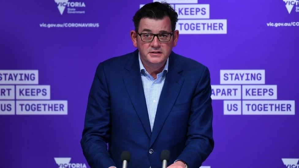 Victoria State Premier Daniel Andrews