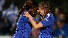 Eniola Aluko and Fran Kirby