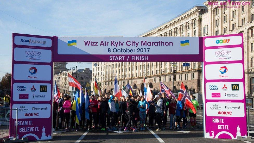 У Києві під час марафону помер чоловік