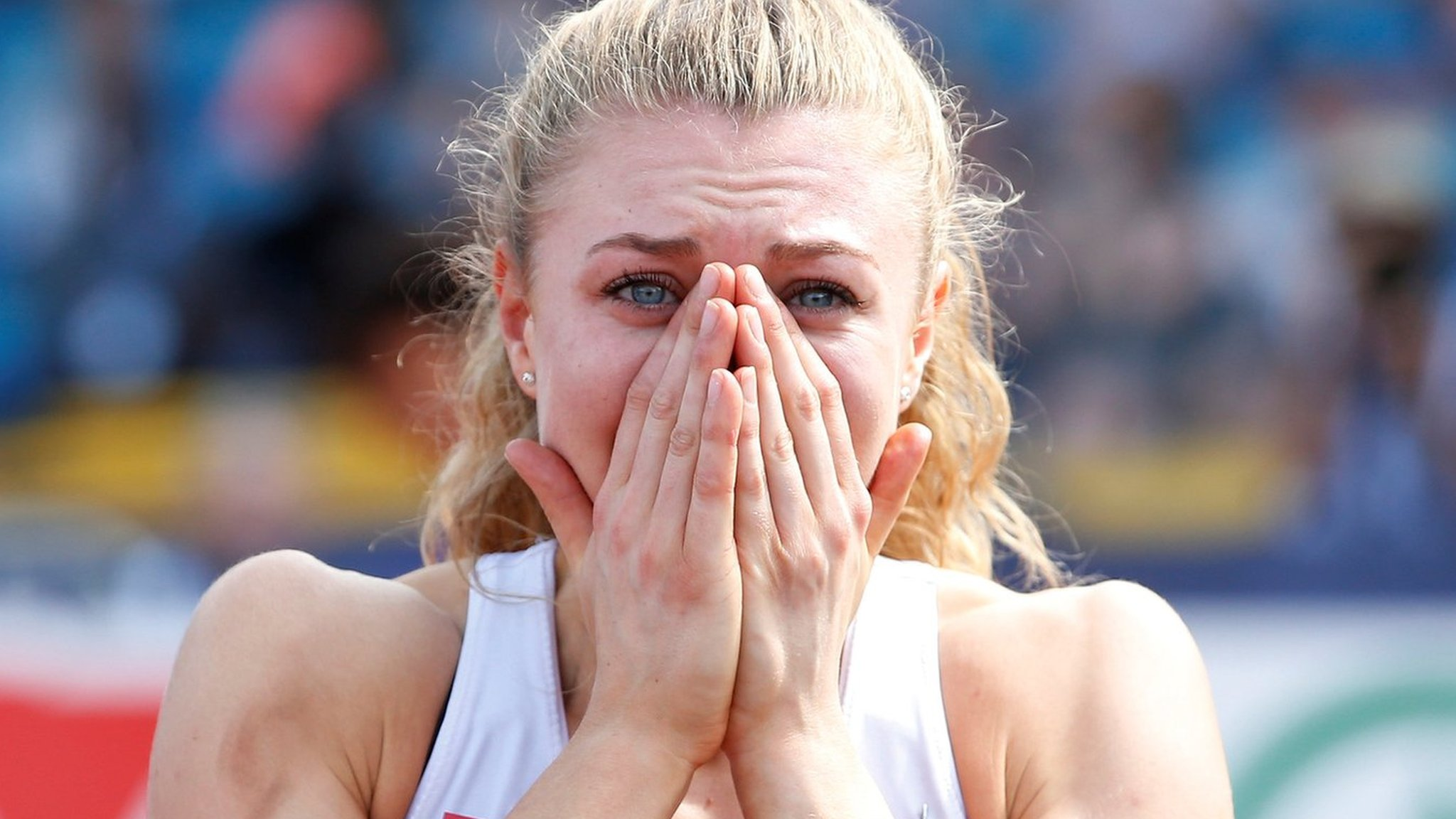 I thought I was going to die - British sprint champion on seizure that left her unable to walk or talk