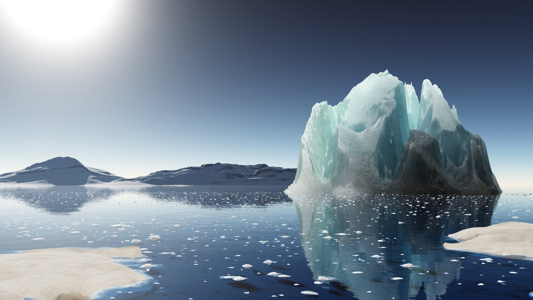 Global warming: Melting Antarctic sea ice at record low - CBBC Newsround