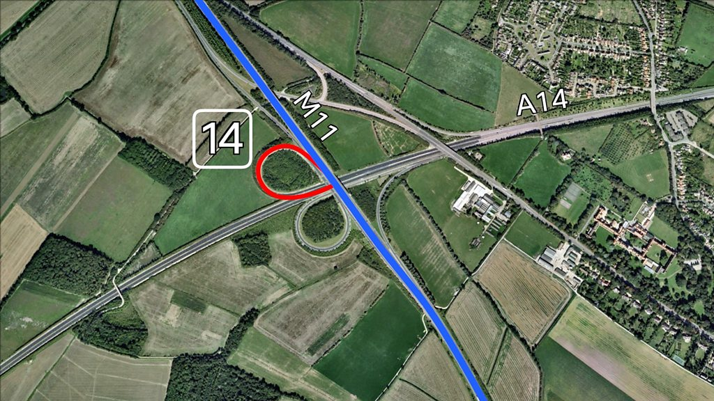 M11/A14 Girton interchange to close for three weeks