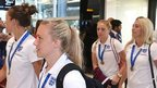 Supporters welcome Lionesses home