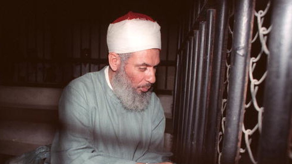 Omar Abdel Rahman en 1989
