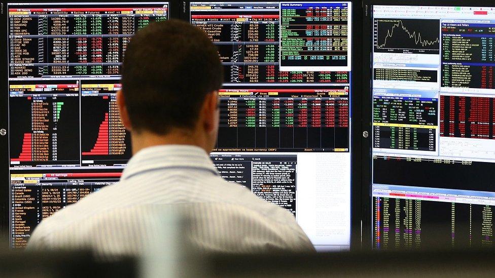 بدأت موجة بيع ضخمة للأسهم الأسبوع الماضي