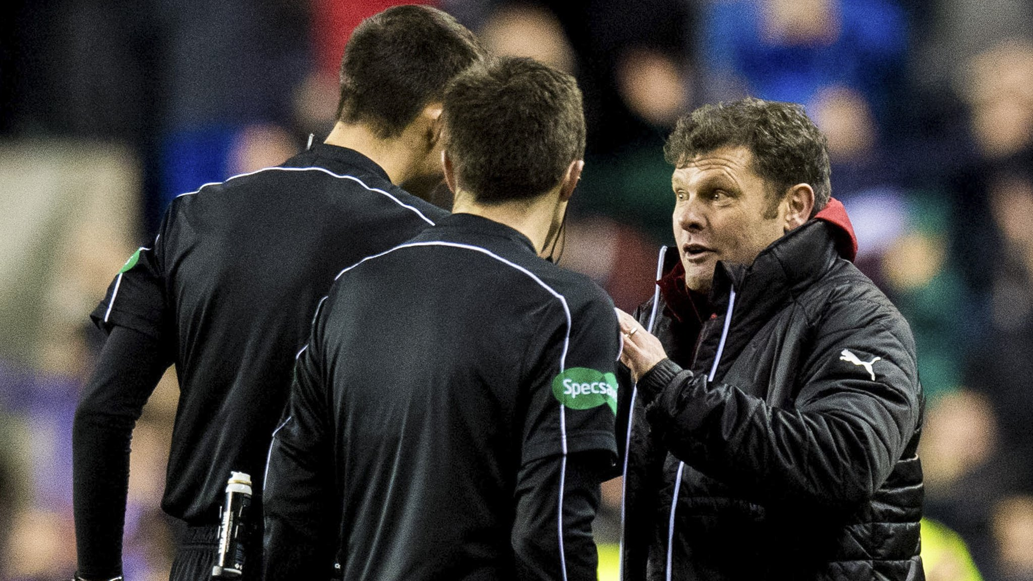 'Full-time referees could help game in Scotland'