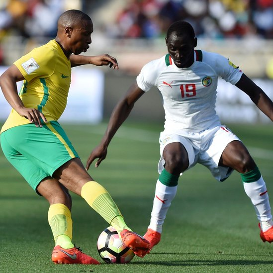 Senegal y Sudáfrica se enfrentarán dos veces en noviembre.