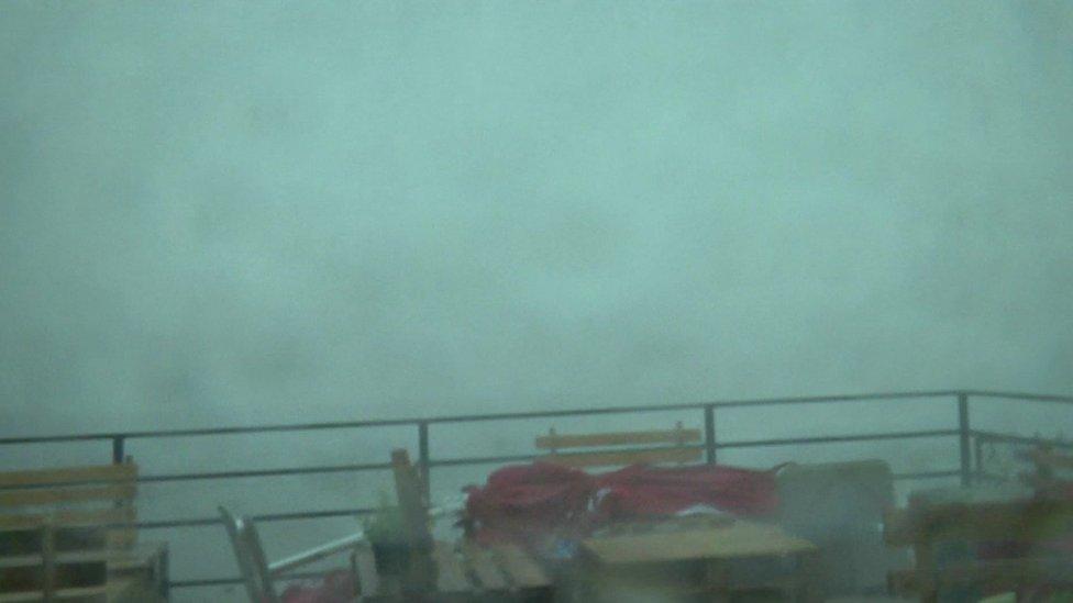 Intense storm batters Croatia in minutes