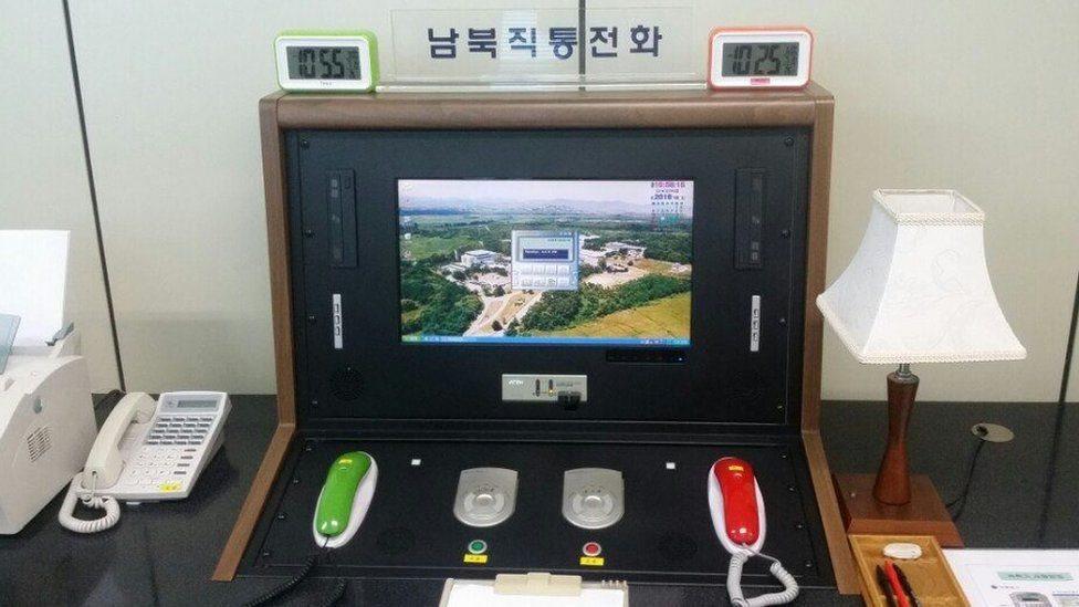 КНДР відновила телефонну лінію з Сеулом, щоб обговорити Олімпіаду