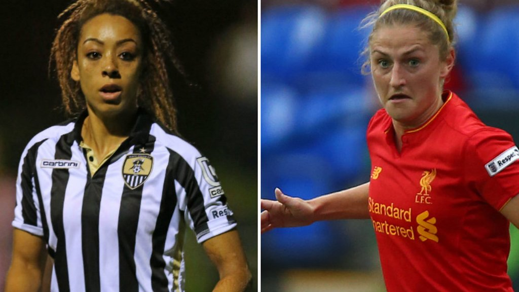 Jess Clarke and Laura Coombs: Liverpool Ladies sign England duo