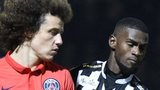 PSG's David Luiz and Abdoul Camara