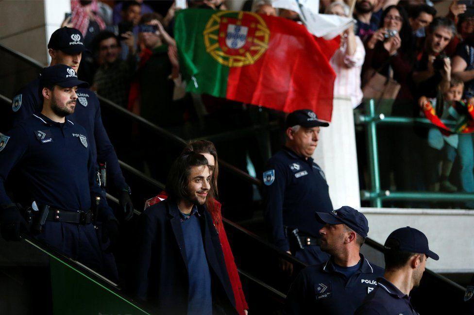 Sobral llega a Lisboa.