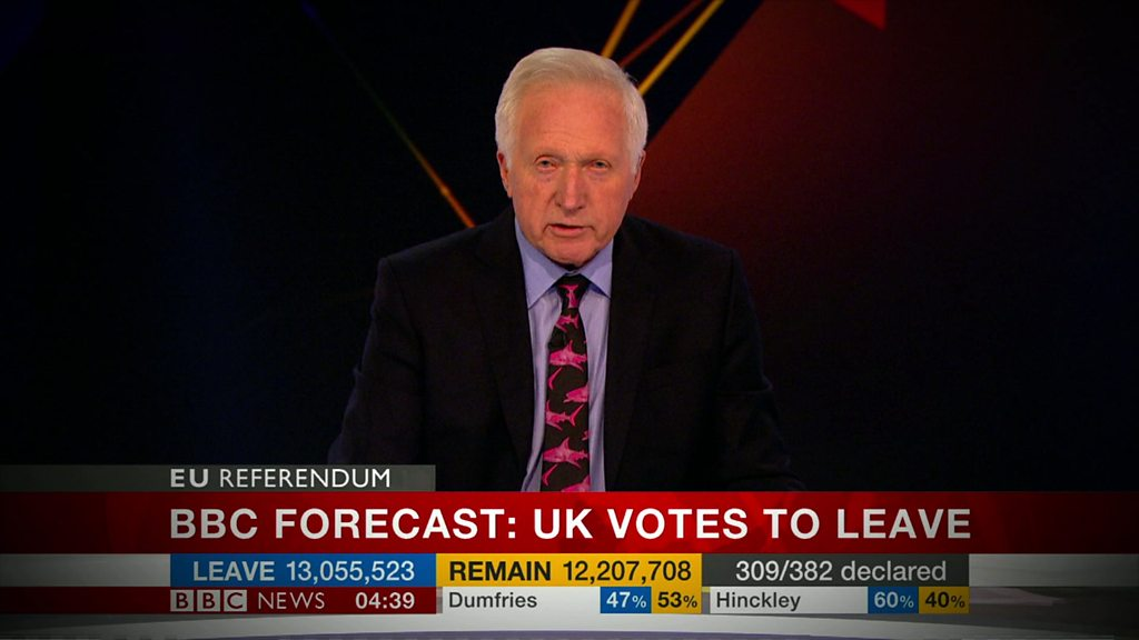 How UK changed in 72 hours since Brexit vote