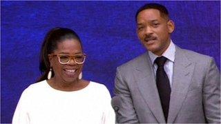 Oprah Winfrey and Will Smith speech
