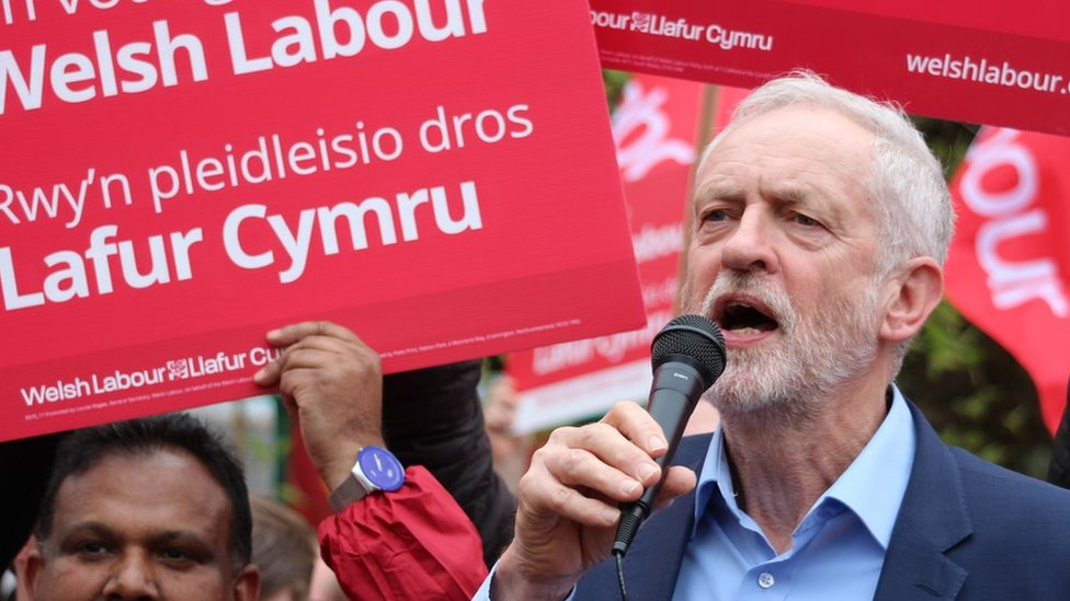 Jeremy Corbyn Welsh visit 'on your side' pledge to voters
