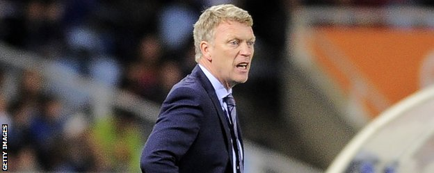 Real Sociedad coach David Moyes