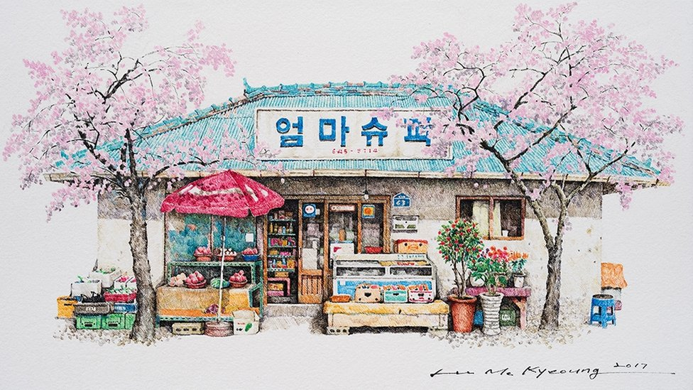In pictures: The charm of South Korea's disappearing convenience stores