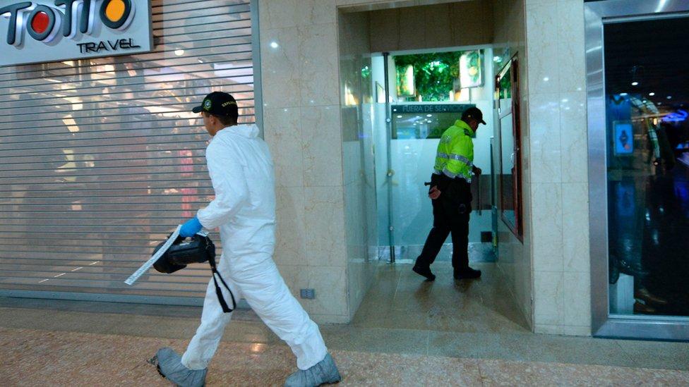 Lo que sabemos hasta ahora de la explosión en Bogotá